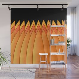 Pumpkin Crown Wall Mural
