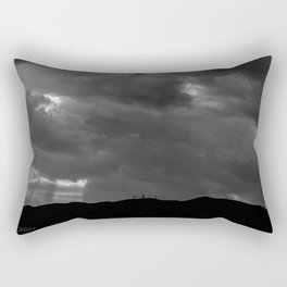 BACK RAYS Rectangular Pillow