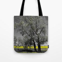 The Beauty of Canola Fields Tote Bag