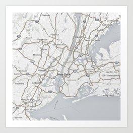Newyork Art Print