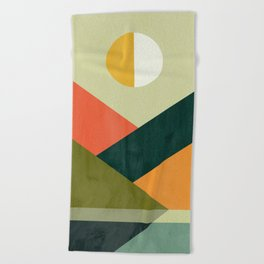 Hidden shore Beach Towel