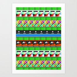 NEX GEN GREEN Art Print
