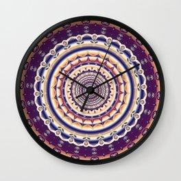 Abstractions in colors (Mandala) Wall Clock
