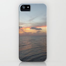Sunset on Long Key 2 iPhone Case