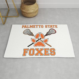 Palmetto State Foxes Exy Crest Rug