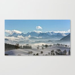 Switzerland, Neuheim Canvas Print