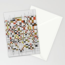 Abstract Composition 447 Stationery Cards
