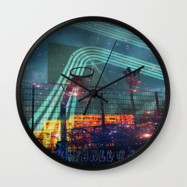 dear basketball Wall Clock