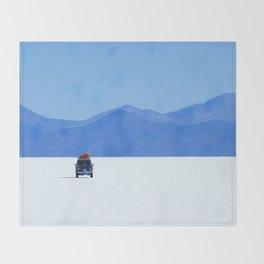 Salar de Uyuni 1 Throw Blanket