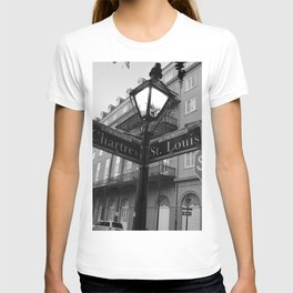 French Quarter, New Orleans streets T-shirt