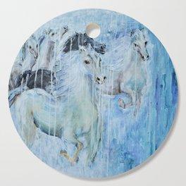 Spirit Horses Cutting Board