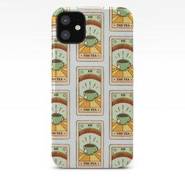 That's the TEA, sis tarot card iPhone Case