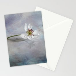 Pear flower Art Stationery Cards