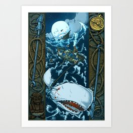 That Unsounded Sea Art Print