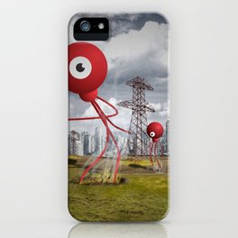 War of the Worlds iPhone Case