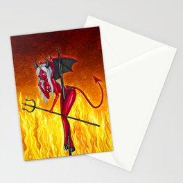 Poletober - Devil Stationery Cards