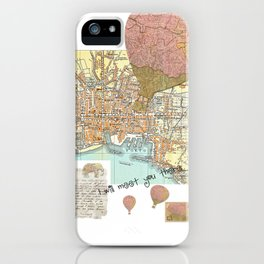 I will meet you there iPhone Case