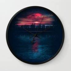 The World Beneath Wall Clock