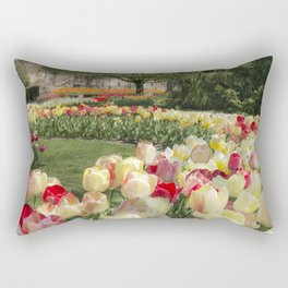 Magic Tulips Rectangular Pillow
