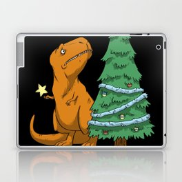 Christmas trex Laptop & iPad Skin