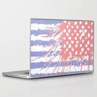 introvert Laptop & iPad Skins featuring DRENCH.american introvert by instantgaram