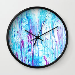 cottoncandyrain Wall Clock
