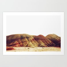 Oregon Painted Hills Art Print