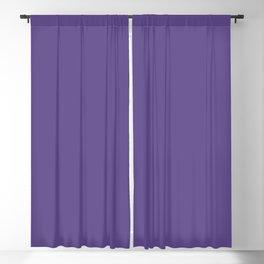 Hue: Ultra Violet Blackout Curtain