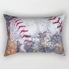 Baseball Art 5 Rectangular Pillow