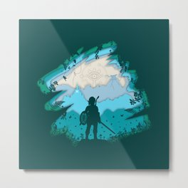 Breath of Warrior Metal Print
