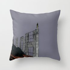 Hollywood Despair Throw Pillow