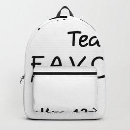 I'm 12th Grade Teacher Favorite 12th Grade Teacher Backpack