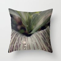 magic the gathering Throw Pillows featuring Morning Gathering by KunstFabrik_StaticMovement Manu Jobst