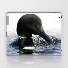 Northern Loon Closeup Laptop & iPad Skin