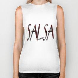 Salsa y Nacho Biker Tank