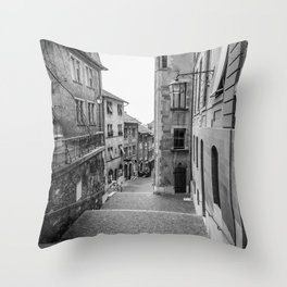 Old Town Geneva Throw Pillow