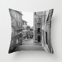 Old Town Geneva Throw Pillow