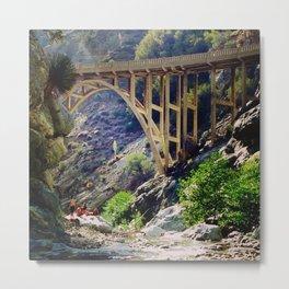 The Bridge to Nowhere Metal Print