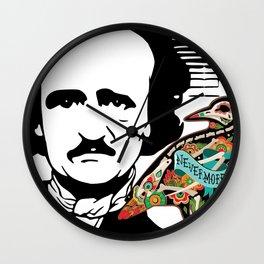 Poe's Raven Wall Clock
