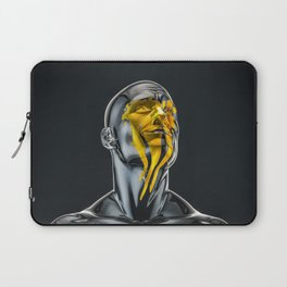 Love is the Only Gold Laptop Sleeve