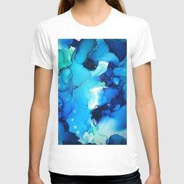B L U E S T-shirt
