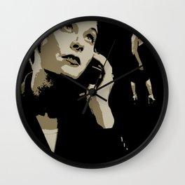 Juxtapose VI Wall Clock