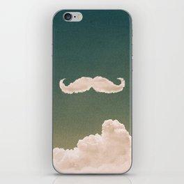 Mustache In the Cloud iPhone Skin