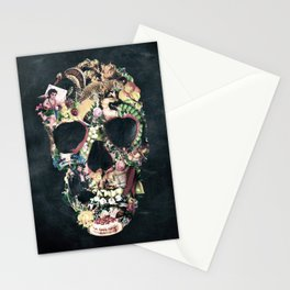 Vintage Skull Stationery Cards