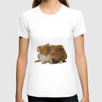guinea pig T-shirts featuring Guinea pigs by Guna Andersone & Mario Raats - G&M Studi