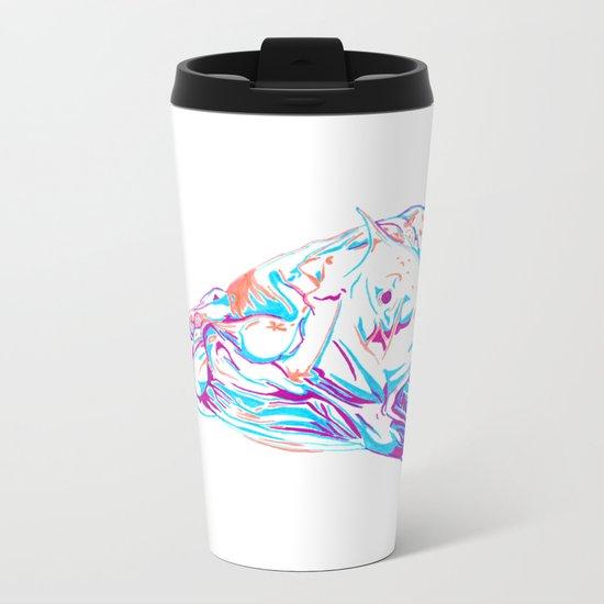Deep Sea Monster Metal Travel Mug