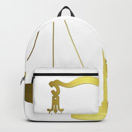Gold Scales of Justice Lawyers Hotline Backpack