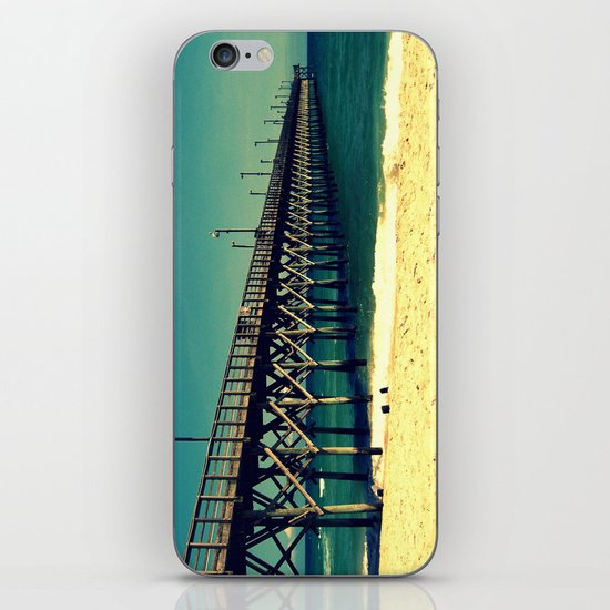 Surf City Pier iPhone & iPod Skin