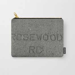 Rosewood Rd sidewalk stamp Carry-All Pouch