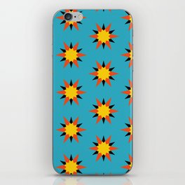 Retro Starburst iPhone Skin